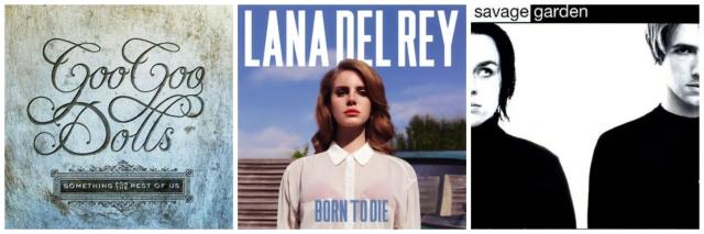 Pop Album Collage