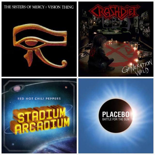 Rock Album Collage