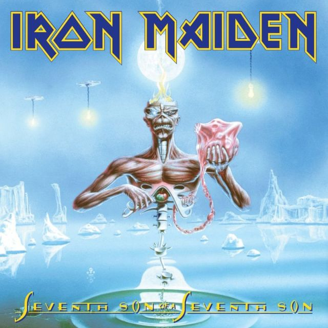 Album Cover for Iron Maiden's Seventh Son of the Seventh Son, from Wikipedia.