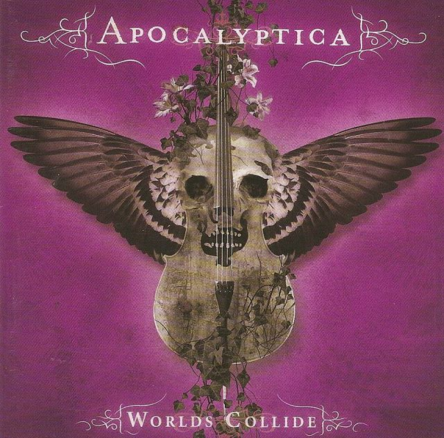 Album cover Apocalyptica - Worlds Collide from Wkipedia.