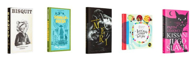 The most beautiful book covers (2013) by Finnish Book Art Committee.