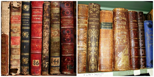 AntiqueBook Collage