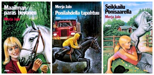 Horse novels by Finnish writer Merja Jalo.