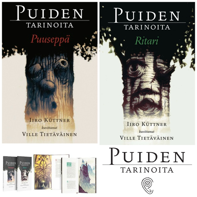 Cover artwork for Puiden Tarinoita is simple and beautiful.