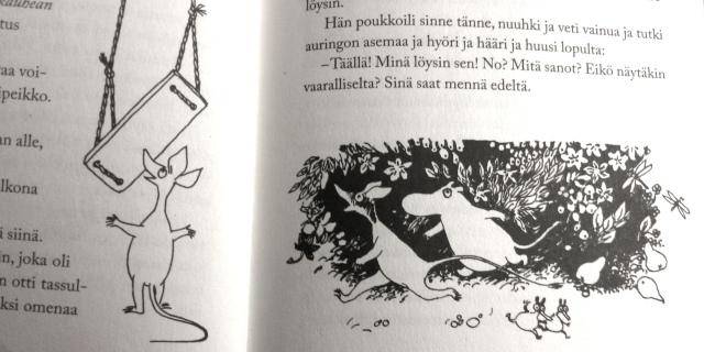 muumipeikko-ja-pyrstötähti-moomins-and-the-comet-chase-tove-jansson-book-kirja