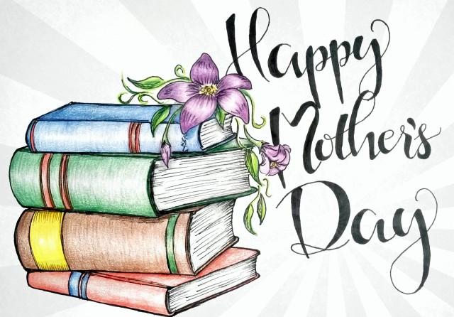 äitienpäivä-kirja-kuva-mothers-day-illustration