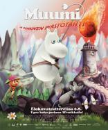 Movie poster and logo design (fin) for Moomins and the Comet Chase