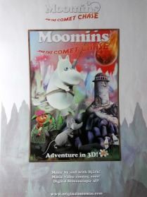 Marketing kit design (A4) for Moomins and the Comet Chase
