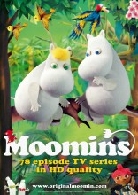 Marketing sheet for Moomins TV series