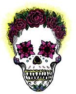 Sugar Skull, Krita
