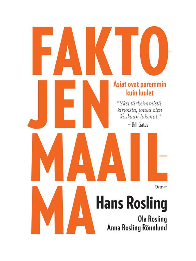 Faktojen maailma Hans Rosling Factfulness